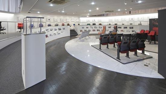 8階 展示フロア「いすの展示室」