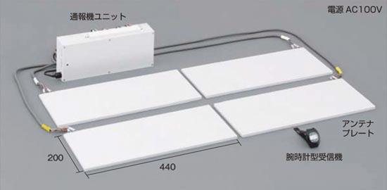 大量商品移動検知システム「センサーシェルフ」製品構成・寸法