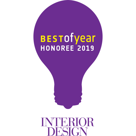 INTERIOR DESIGN「Best of Year Awards 2019」Honoree