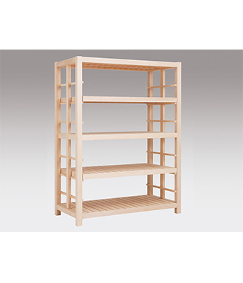 木製支柱棚