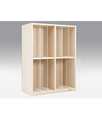 木製絵画収納棚